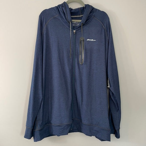 Eddie Bauer Men's Full Zip Sweatshirt. Size 3XL